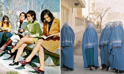Spójrzcie na fotografie z Kabulu z lat 1960, 1970. i 1980., a zobaczycie wiele niezakwefionych kobiet. Potem przyszli talibowie i je zakryli.