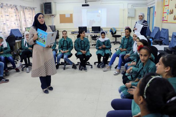 <span>Szkoła UNRWA w Jordanii</span>