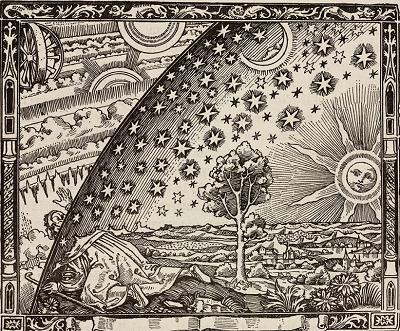Ilustracja<span>Camille Flammarion (1842-1945)</span>