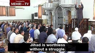 Salah wyjaśnia rolę wymiocin, Żydów i brudu islamskim wiernym,<br /> 25 marca 2016 [Źródło]