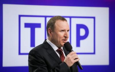 Prezes TVP Jacek Kurski / fot. Paweł Supernak / źródło: PAP