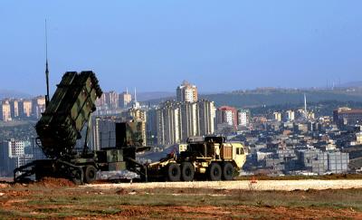 Rakiety Patriot, rozlokowane pod Gaziantep w Turcji w 2013 r. (Źródło: U.S. Army Europe/Daniel Phelps)