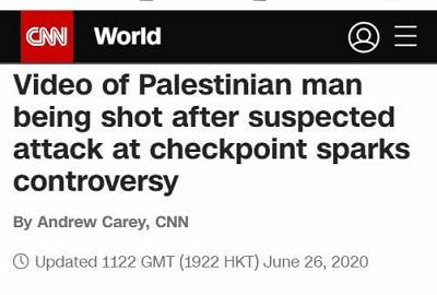 [Wideo Palestyńczyka zastrzelonego po podejrzeniu zamachu na punkcie kontrolnym wywołuje kontrowersję]