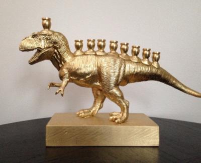 Menorasaurus Rex. Wyrób izdjęcie Lisa Pierce.