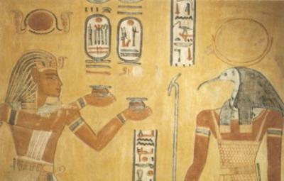 Thot, Bóg ibis starożytnego Egiptu.