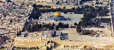Góra Moria, miejsce żydowskiej Świątyni. Okupowana przez islam (Zdjęcie: Andrew Shiva/Wikipedia)