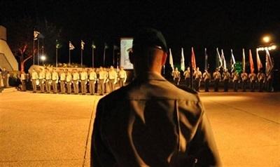 Ceremonia Jom Hazikaron (Źródłó: Rzecznik policji)