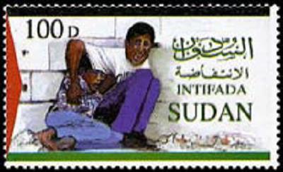 Niemal wszystkie kraje arabskie wydały znaczki pocztowe z chłopcem Al Durah, wzywające do intifady.
