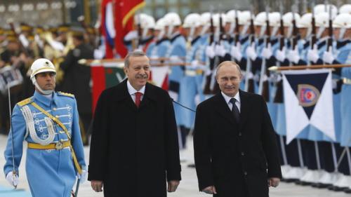Erdogan z Putinem idą do Unii.