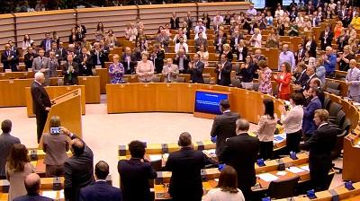 Parlament Europejski oklaskuje kłamstwa Abbasa o zatruwaniu palestyńskiej wody przez Żydów (czerwiec 2016)