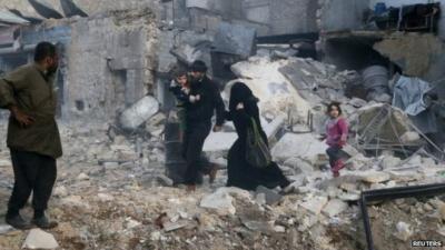 Syryjska armia walczy o Aleppo