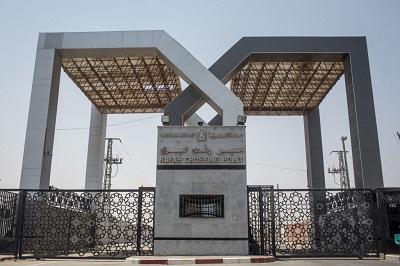 W 2017 r. Egipt otworzył przejście graniczne Rafah ze Strefa Gazy (na zdjęciu powyżej) tylko przez 29 dni. (Zdjęcie:Chris McGrath/Getty Images)