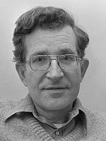 Noam Chomsky w 1977 r.