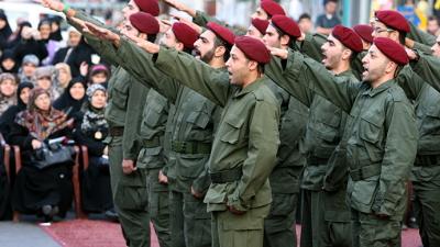 Bojownicy Hezbollahu informują o swojej gotowości.
