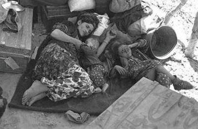 Żydowscy uchodźcy z Iraku 1951 rok.