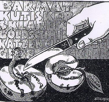 Karykatura z nazistowskiego tygodnika \