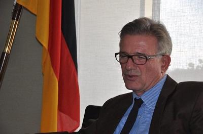 Christian Clages, szef niemieckiej misji w \