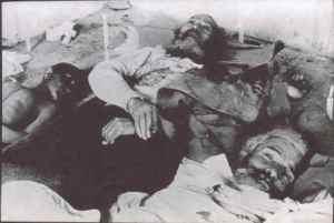 Żydowskie ofiary masakry Nebi Musa z 1920 r. – starożytna społeczność Jerozolimy została uznana za uprawniony łup.