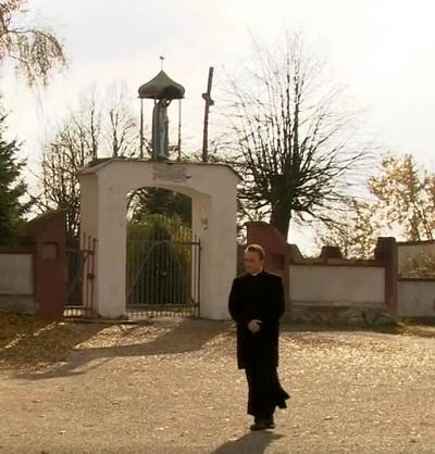 """Wikary z serialu """"Ranczo"""" (Zrzut z ekranu.)"""