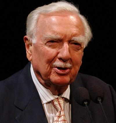 Walter Cronkite, dziennikarz (1916-2009) (Zdjęcie: Wikipedia)