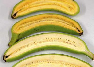 Banany wzbogacone o witaminę A.