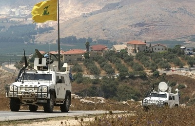 <span>Pojazdy sił pokojowych ONZ w Libanie (UNIFIL) patrolują granicę Libanu z Izraelem.</span><br /><span>Zdjęcie: The Daily Star.</span>