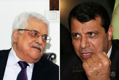Prezydent Autonomii Palestyńskiej, President Mahmoud Abbas (po lewej), który w zeszłym tygodniu ukończył 81 lat, zaciekle opiera się żądaniom przywódców swojej rządzącej frakcji, Fatahu, by wyznaczył wiceprezydenta lub następcę. Ludzie na wysokich stanowiskach, którzy ośmielili się kwestionować autokratyczne rządy Abbasa, stali się celem ataków prezydenta – jak Mohamed Dahlan (po prawej), były dowódca Fatahu i minister, który musiał uciekać z terytoriów palestyńskich po poróżnieniu się z Abbasem i jego synami. (Zdjęcia: U.S. State Dept., M. Dahlan Office)