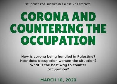 Studenci z Uniwersity of Maryland (USA) postanowili przedyskutować jak Żydzi utrudniają Palestyńczykom obronę przed koronawirusem.
