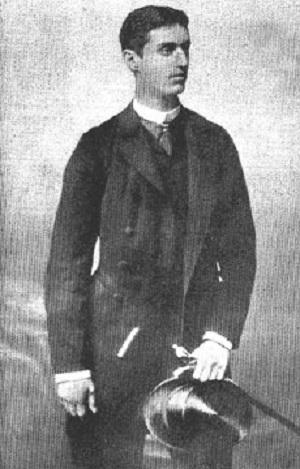 Herzl jako młody wiedeńskidziennikarz ok. 1878 roku (Zdjęcie: Wikipedia)