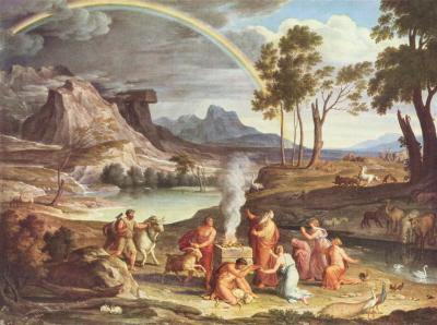 Obraz Josepha Antona Kocha.