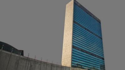 Sept. 21, 2009: Siedziba główna Organizacji Narodów Zjednoczonych w Nowym Jorku. (AP Photo/Jason DeCrow)