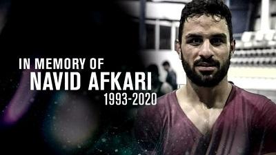 Mimo międzynarodowego oburzenia teokratyczny reżim dokonał 12 września egzekucji mistrza zapaśniczego, Navida Afkariego, niewinnego uczestnika protestu, którego torturami zmuszono do fałszywego przyznania się. Jego egzekucja była wyraźnie przeprowadzona pospiesznie i odmówiono mu nawet ostatniej wizyty rodziny.