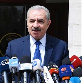 Premier AP Muhammad Sztajjeh (źródło: Wafa.ps)