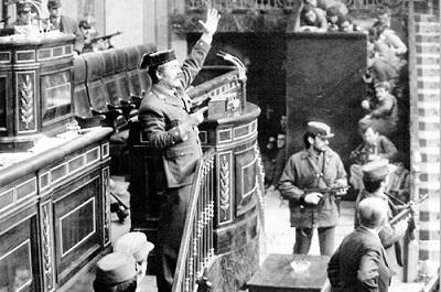 Zamach stanu w Hiszpanii w 1981 roku.