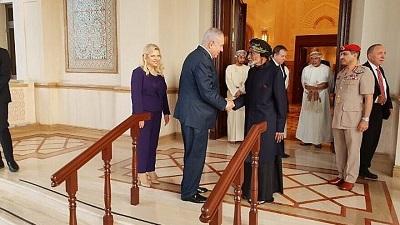 Pierwsza wizyta izraelskiego premiera w Zjednoczonych Emiratach Arabskich w październiku 2018 roku.