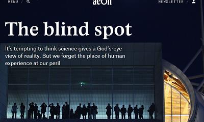 <div>Czy nauka daje nam boski ogląd rzeczywistości? Oczywiście, że nie, nauka udoskonala ludzki ogląd rzeczywistości.</div>(Link do artykułu:https://aeon.co/essays/the-blind-spot-of-science-is-the-neglect-of-lived-experience)