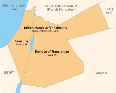 Brytyjska Palestyna Mandatowa