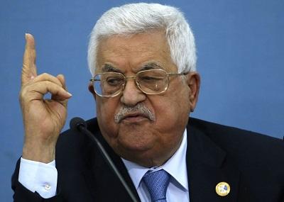 Gdyby palestyński przywódca powstrzymał porozumienie w sprawach bezpieczeństwa z Izraelem, jak wielokrotnie groził, podpisałby własny wyrok śmierci. Zdjęcie przywódcy Autonomii Palestyńskiej, Mahmouda Abbasa.