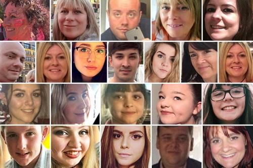 Zamordowani w Manchesterze przez muzułmańskiego fanatyka.