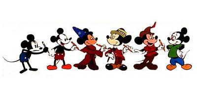 Ewolucja Myszki Miki przez pół wieku: neotenia rządzi!
