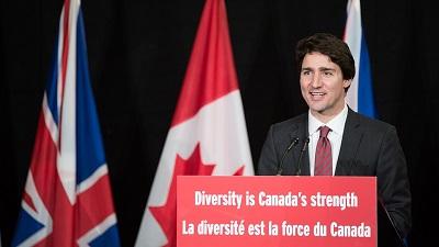 W 2015 r. kanadyjski premier, Justin Trudeau, powiedział, \