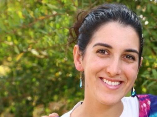 Dwudziestosześcioletnia Dalia Lemkus zasztyletowana przez terrorystę na przystanku autobusowym 10 listopada 2014. (Zdjęcie: Flash90)