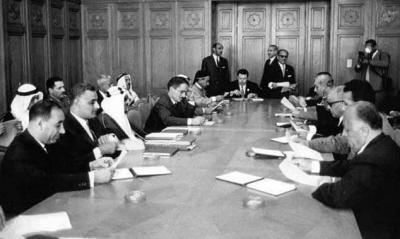 Szczyt arabski 1964 r. Stworzenie OWP