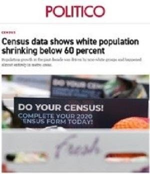 Niemal wszystkie media informowały, że biała populacja Ameryki zmniejszyła się od 2010 roku. Nie to jednak pokazują dane spisu powszechnego.