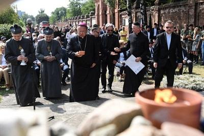 Siedemdziesiątaczwarta rocznica likwidacji łodzkiego getta.