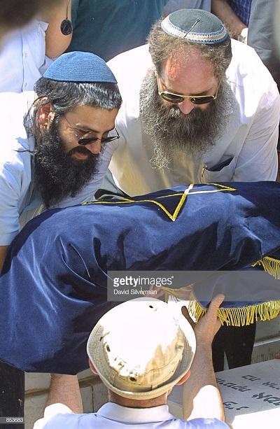 Źródło: Getty Images. Pogrzeb izraelskiego dziecka zabitego przez palestyńskiego snajpera