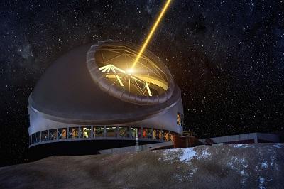 Thirty Meter Telescope(w skrócieTMT) – międzynarodowy projekt zakładający skonstruowanie i zbudowanie teleskopuz lustrem o średnicy 30 metrów.Jego budowa jest opóźniona z powodu protestów lokalnej społeczności na Hawajach, twierdzącej, że góra Mauna Kea, gdzie ma być zbudowany jest święta.