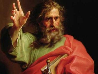 Święty Paweł - faktyczny twórca chrześcijaństwa.