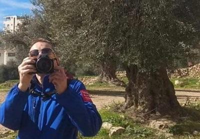 Członek TIPH – Tymczasowa Międzynarodowa Obecność w Hebronie zagranicznych sił obserwacyjnych, styczeń 2019. (zdjęcie: JEWISH COMMUNITY OF HEBRON)