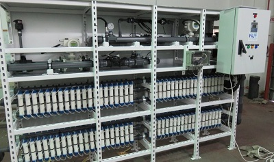 Technologia NUFiltration recyklingu wody dla szklarni. Zdjęcie: NUFiltration